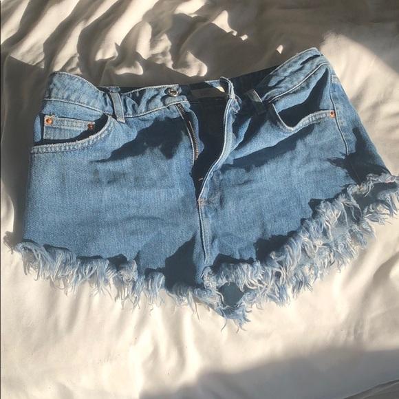 Topshop Pants - topshop shorts